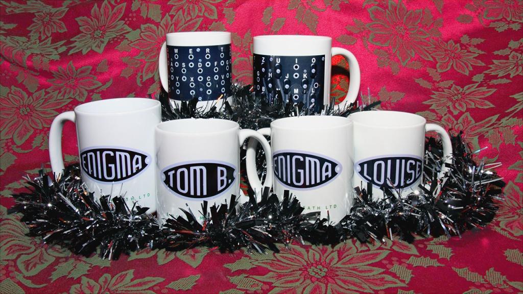 Enigma Name Mugs